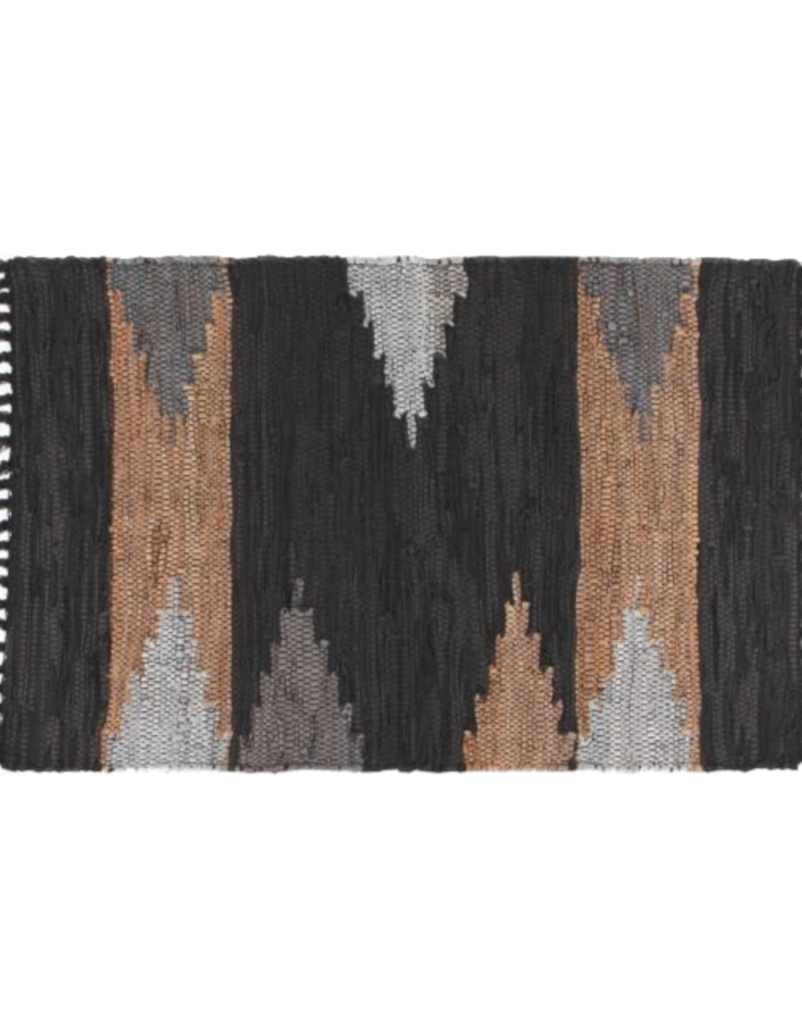 NOW DESIGNS RUG LEATHER CHINDI MERCER