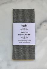 DISH SPONGE CLOTH SWEDISH HEIRLOOM SHADOW GRAY