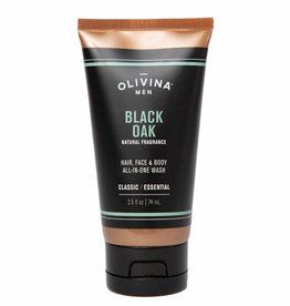 OLIVINA BODY WASH TUBE 2.5 OZ BLACK OAK