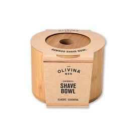 OLIVINA SHAVE BOWL BAMBOO