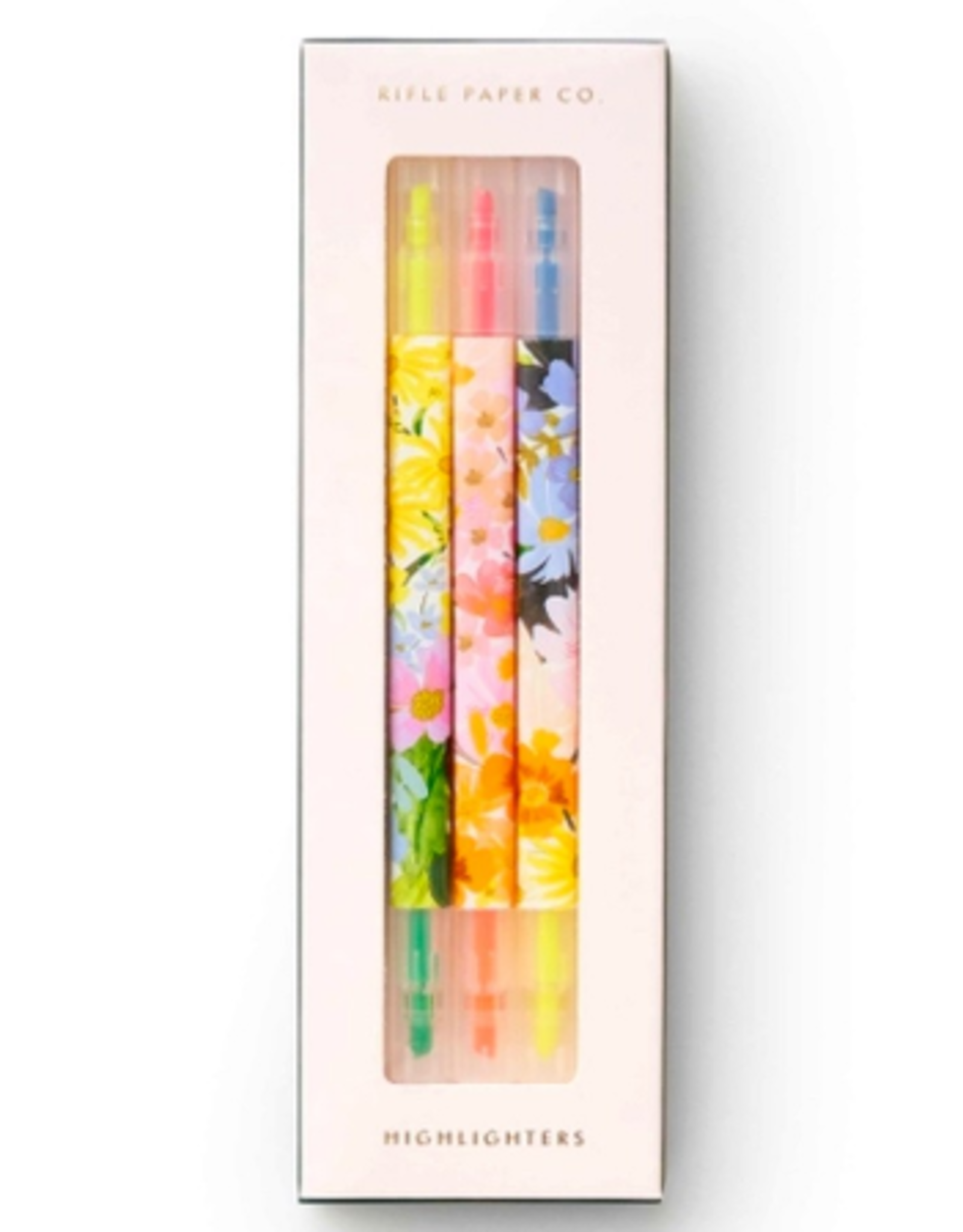 RIFLE PAPER COMPANY HIGHLIGHTER SET MARGUERITE