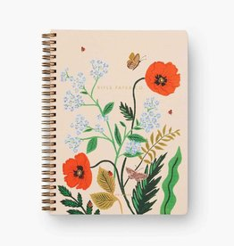 RIFLE PAPER COMPANY NOTEBOOK SPIRAL ICELAND POPPY
