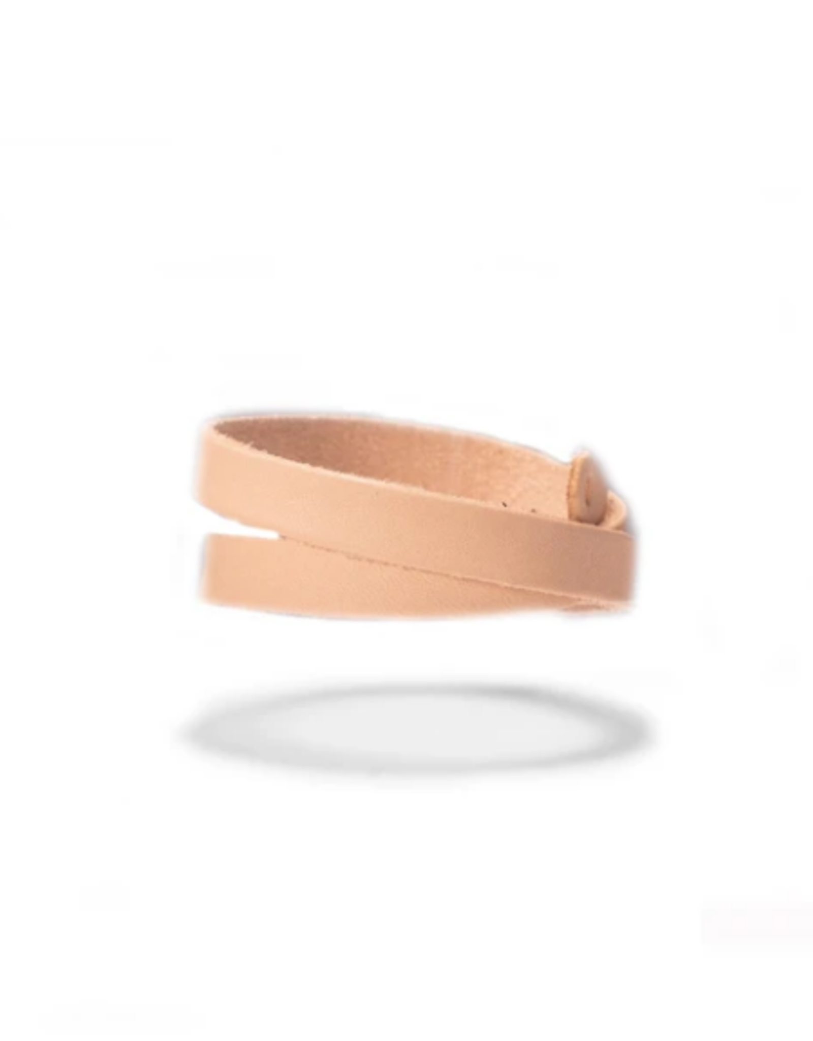 BRACELET HIGHWAY LEATHER WRISTBAND NATURAL