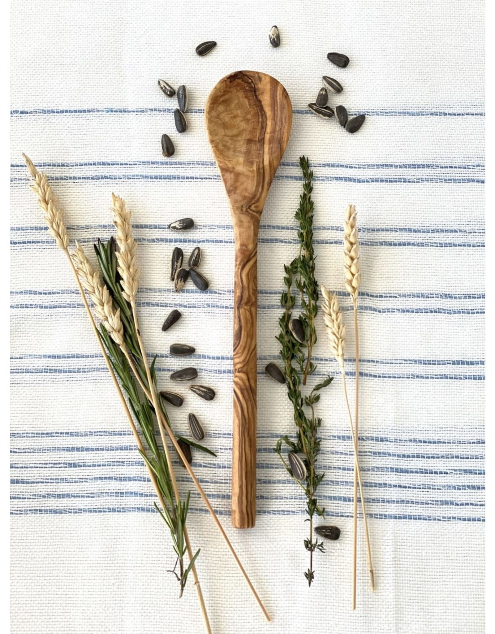 SCENTS AND FEEL SPOON OLIVE WOOD 12''