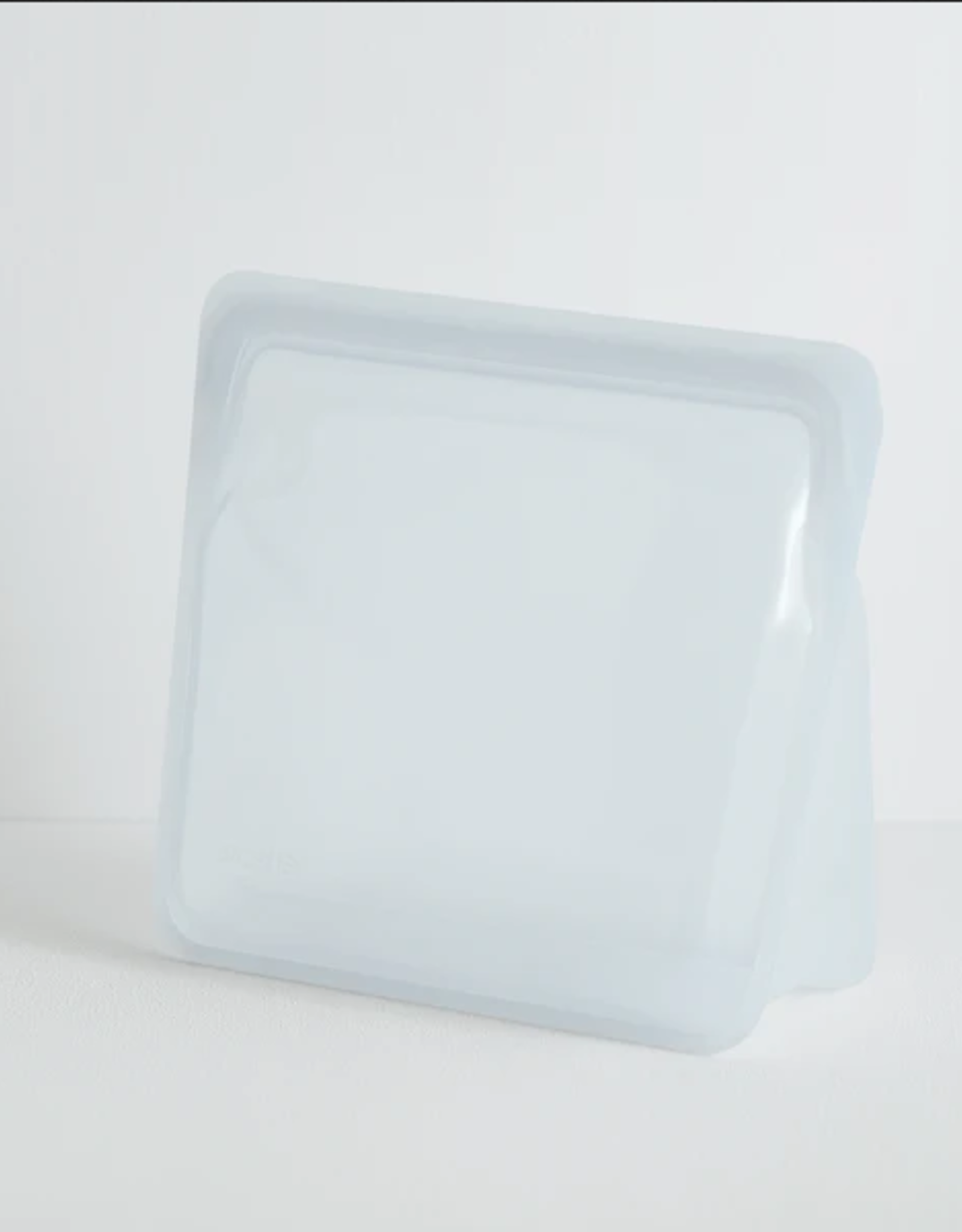 SILICONE STAND UP BAG CLEAR