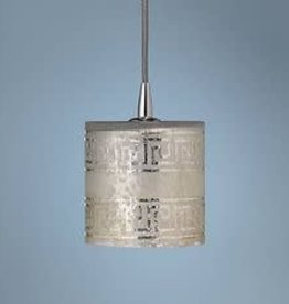 PENDANT GRECIAN CUP ETCHED