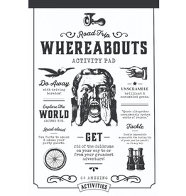 ROAD TRIP WHEREABOUTS ACTIVITY PAD