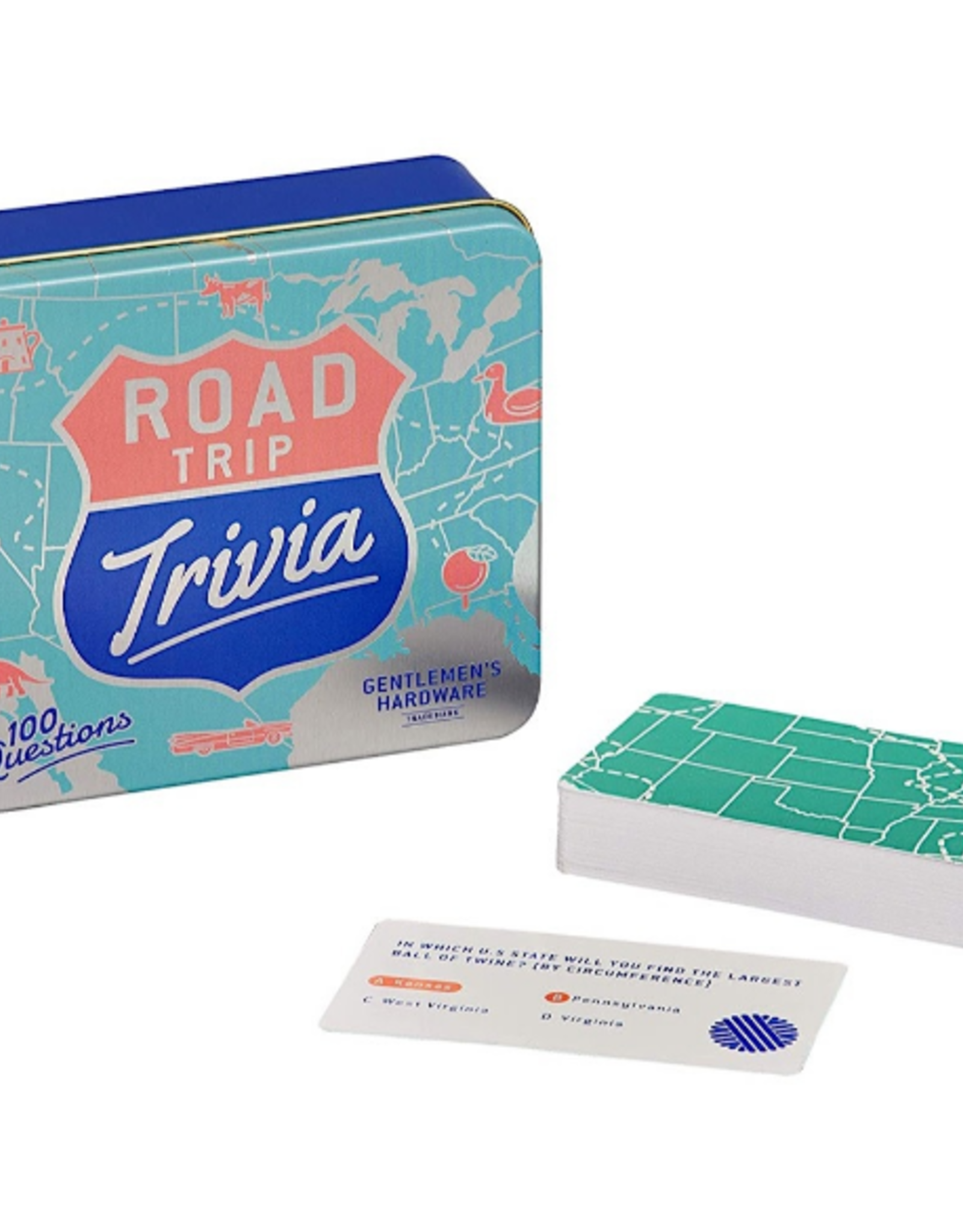 GAME USA ROAD TRIP TRIVIA