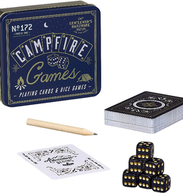 GENTLEMAN'S HARDWARE GAME CAMPFIRE CARDS AND DICE