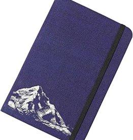 NOTEBOOK TRAVELER JOURNAL 6 X 9 INCHES BLUE