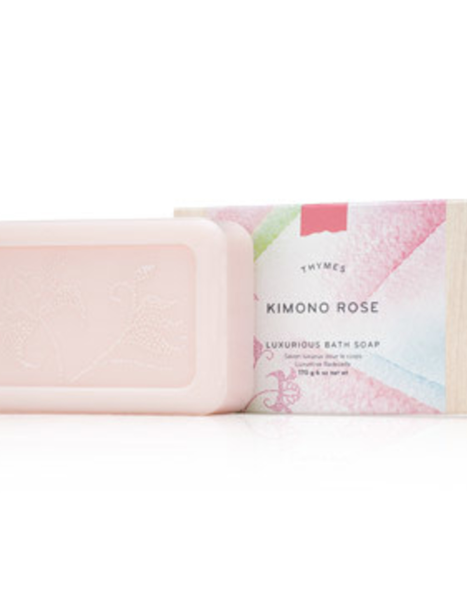 THYMES SOAP BAR KIMONO ROSE