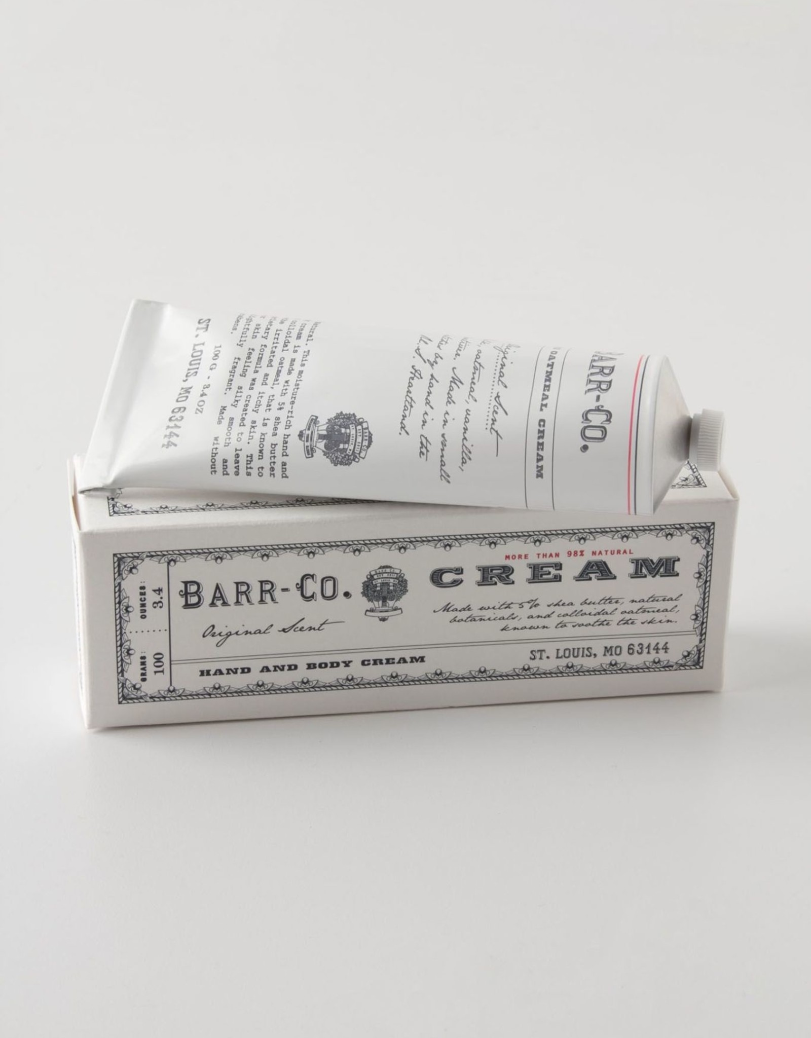 LOTION HAND AND BODY CREAM TUBE ORIGINAL SCENT 3.4 OZ LARGE