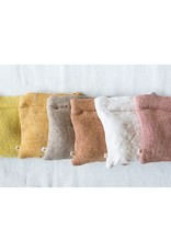 POUCH ZIP 10 INCHES SQUARE COTTON AND JUTE ASSORTED