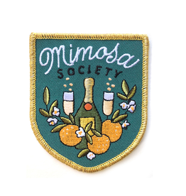 PATCH IRON ON MIMOSA SOCIETY