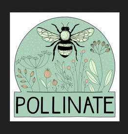 PEN AND PINE STICKER VINYL POLLINATE BEE LARGE