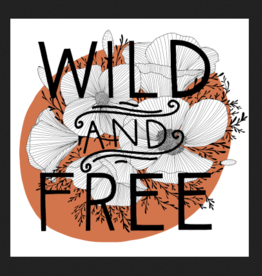 PEN AND PINE STICKER VINYL WILD AND FREE LARGE