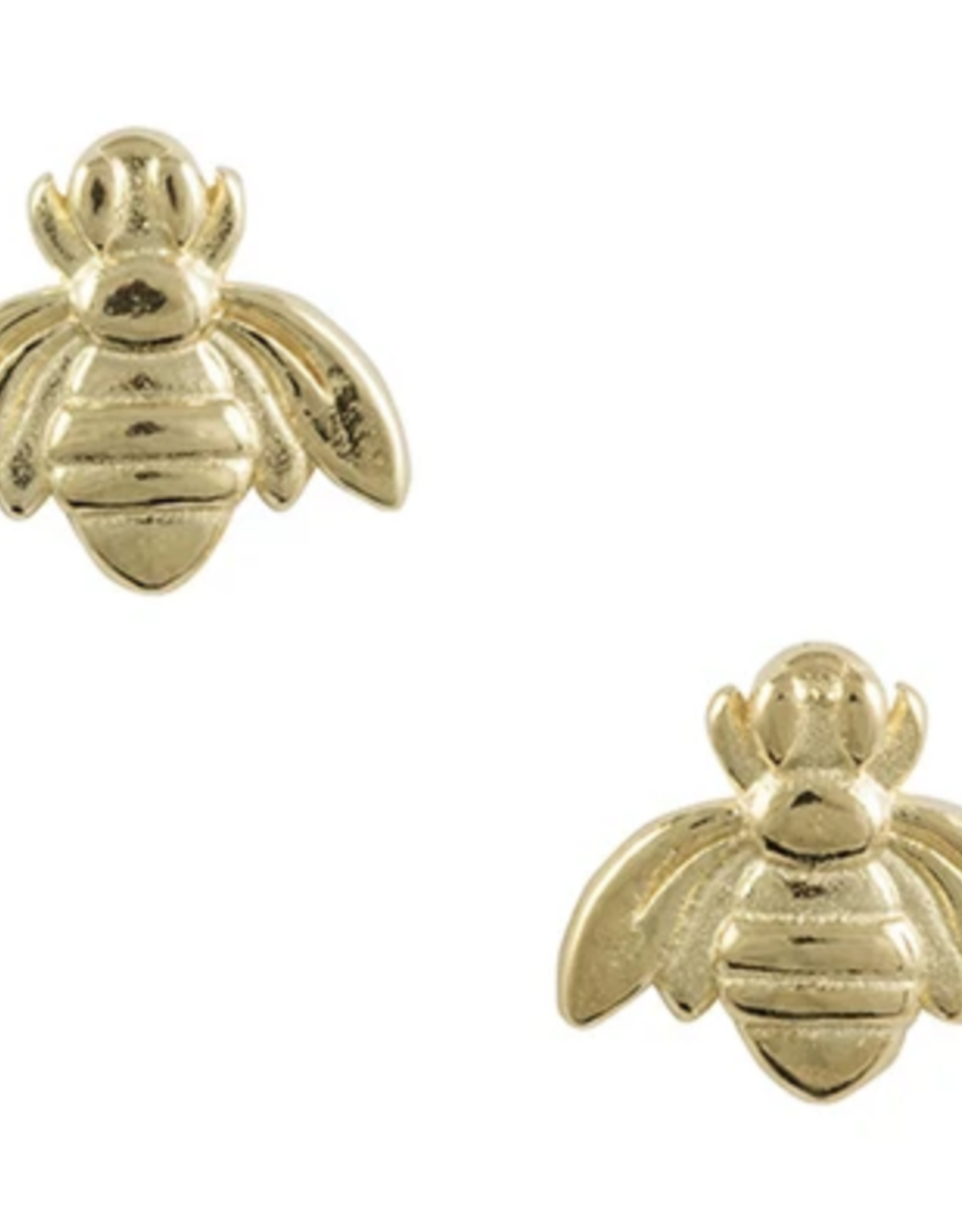 EARRING POST BEE GOLD