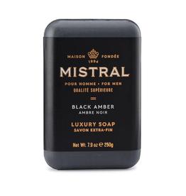 SOAP BAR BLACK AMBER