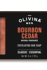 SOAP BAR 6 OZ BOURBON CEDAR
