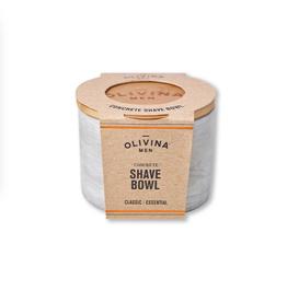 OLIVINA SHAVE BOWL CONCRETE