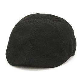 SAN DIEGO HAT DRIVER CAP HAT BLACK (ELASTIC FIT)