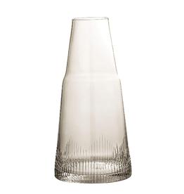 DECANTER GLASS 34 OZ SMOKE
