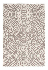 RUG 3 X 5 WOOL MICRO HOOKED TEMPLE TAUPE