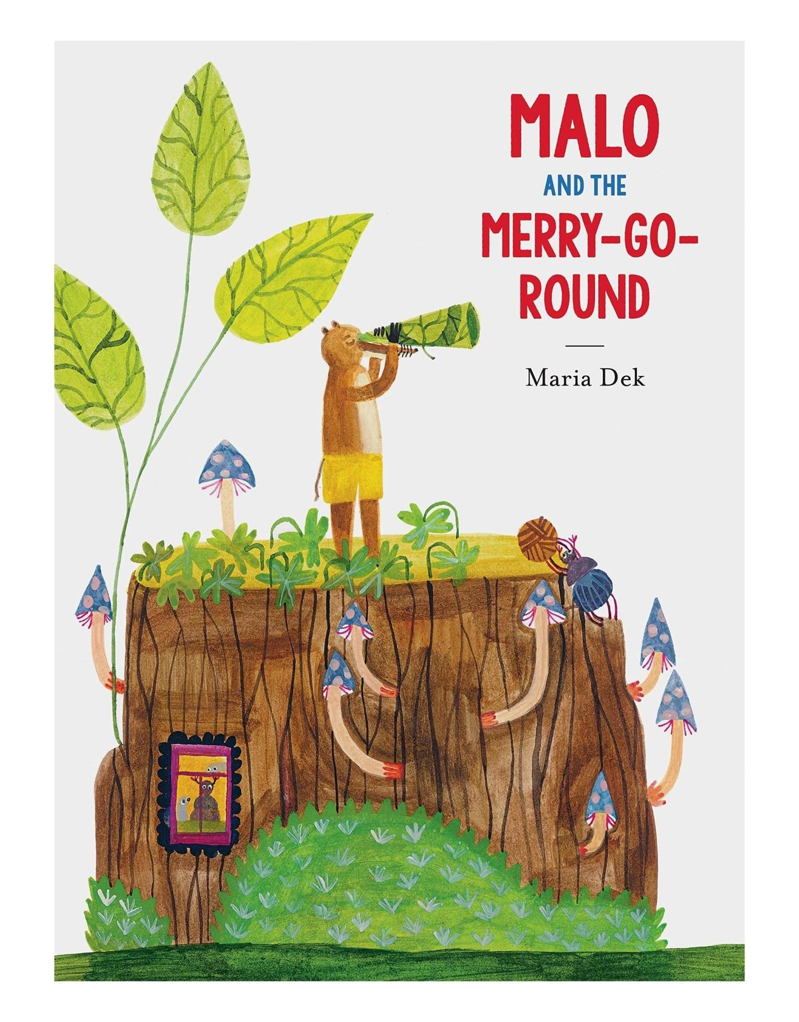 CHRONICLE BOOKS MALO AND THE MERRY-GO-ROUND
