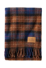 PENDLETON BLANKET MOTOR ROBE WITH LEATHER CARRIER SHELTER BAY PLAID