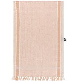 TOWEL DISH 18X28 SOFT WAFFLE WEAVE NECTAR PINK