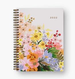 RIFLE PAPER COMPANY 12-MONTH SPIRAL-BOUND PLANNER MARGUERITE 2022