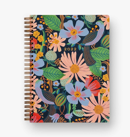 RIFLE PAPER COMPANY 12-MONTH SPIRAL-BOUND PLANNER DOVECOTE 2022