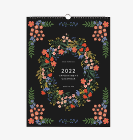 RIFLE PAPER COMPANY 12-MONTH APPOINTMENT CALENDAR LUXEMBOURG 2022