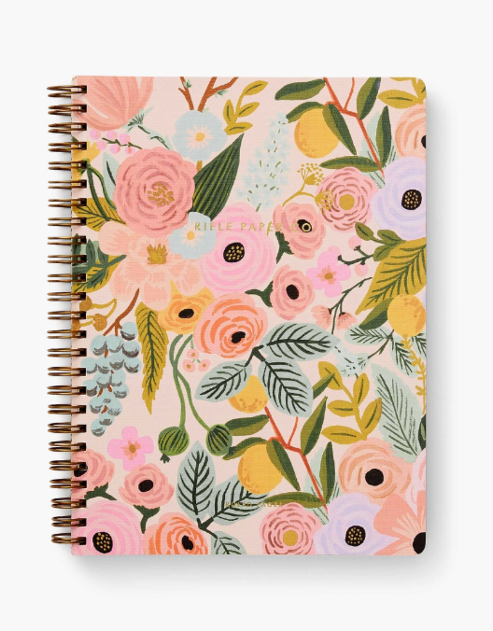 RIFLE PAPER COMPANY NOTEBOOK SPIRAL GARDEN PARTY
