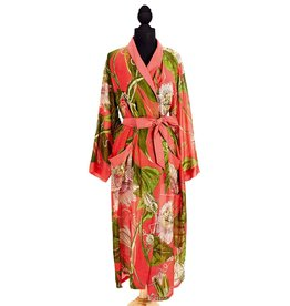 ROBE CORAL PASSION FLOWER