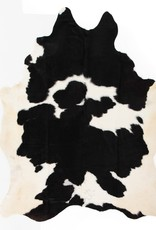 RUG COWHIDE CARDIN BLACK AND WHITE