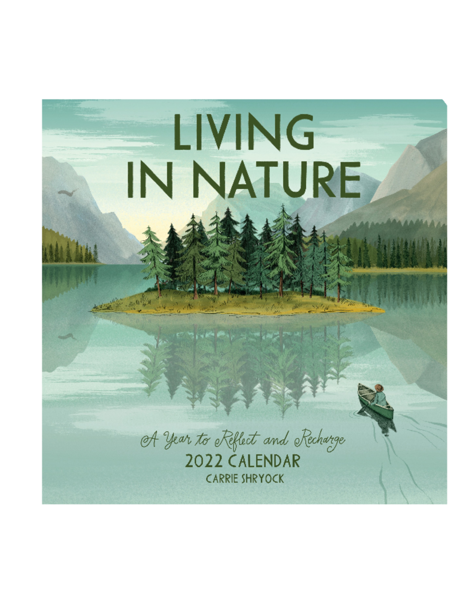 12-MONTH CALENDAR LIVING IN NATURE 2022