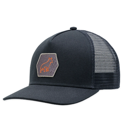 HAT TRUCKER CAP MASCOT BLACK