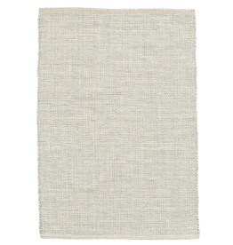 RUG WOVEN COTTON MARLED LIGHT BLUE 4 X 6