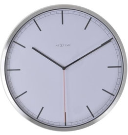 UNEK GOODS WALL CLOCK COMPANY WHITE UNNUMBERED
