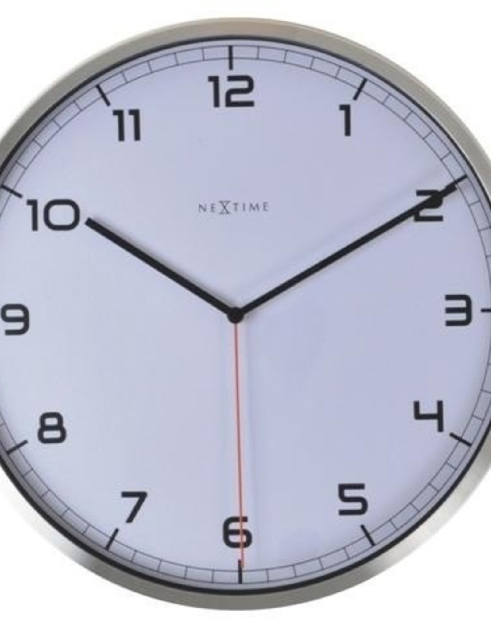 UNEK GOODS WALL CLOCK COMPANY WHITE  NUMBERED