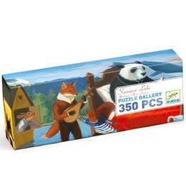 DJECO PUZZLE SUMMER LAKE PANORAMIC 350 PIECES