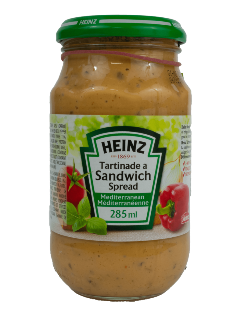 Heinz Heinz Sandwich Spread - Mediterranian 300ml