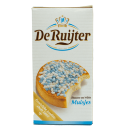De Ruijter Blue White Candy Sprinkles 280g