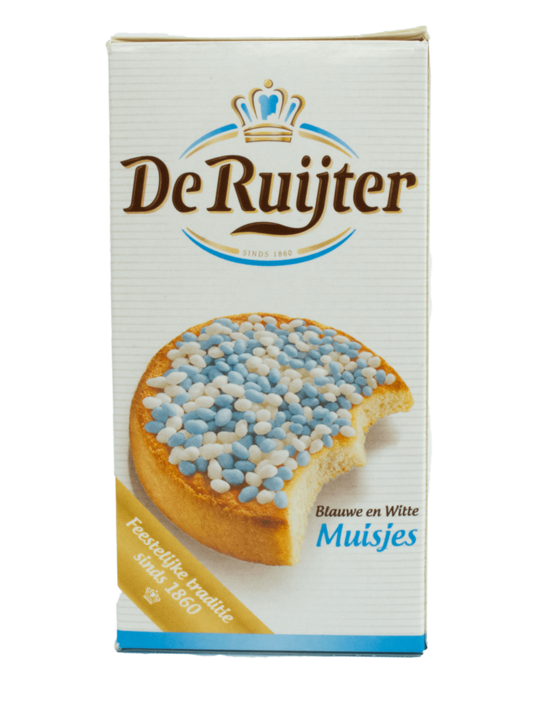 De Ruijter De Ruijter Blue White Candy Sprinkles 280g