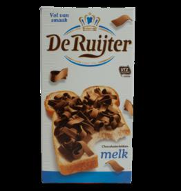 De Ruijter Chocolate Flakes (Vlokken) - Milk 300g