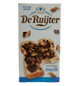 De Ruijter Milk Chocolate Flakes 300g