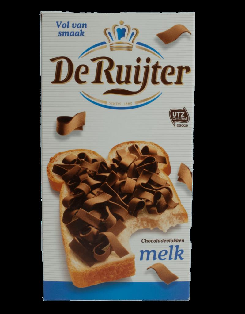 De Ruijter De Ruijter Chocolate Flakes (Vlokken) - Milk 300g