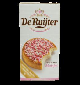 De Ruijter Pink White Sprinkles 280g