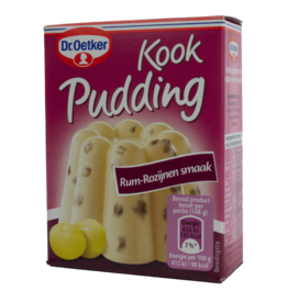 Dr Oetker Kook Pudding Mix - Rum Raisin 93g